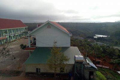 Một góc nhìn đẹp từ trường PT DTNT Huyện Đăk Song