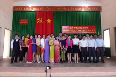 Lễ Tổng Kết Năm Học 2016 – 2017