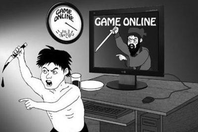 HẬU QUẢ NGHIỆN GAME ONLINE